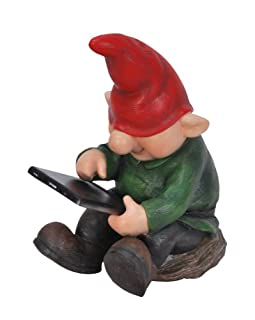 Plain Gnomes Vivid Arts Playful Gnome Leafpad