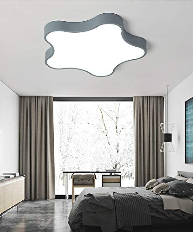 Einfache moderne schlafzimmer deckenleuchte warm led kinderzimmer gang fünfzackigen stern deckenleuchten 42  5cm24w weies licht