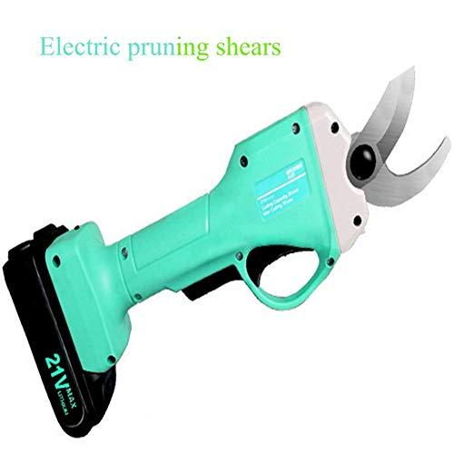 Schnurlose elektrische Astschere weniger, professionelle, mit Lithiumbatterien betriebene Astschere, Klinge SK5 Schneidkaliber: 40 mm 21 V - 2,0 Ah Batteriekapazität