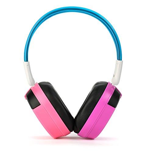 41onvK5hHSL. SL500  - Bravo View IH-09AB - Kid-Friendly Automotive IR Wireless Headphones (Dual Source)