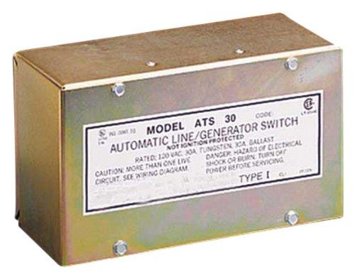 Parallax Stromversorgung (ats301) 30Amp 120V Generator Schalter