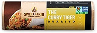 Sweet Earth Burrito, The Curry Tiger, 7 Ounce (Pack of 12)