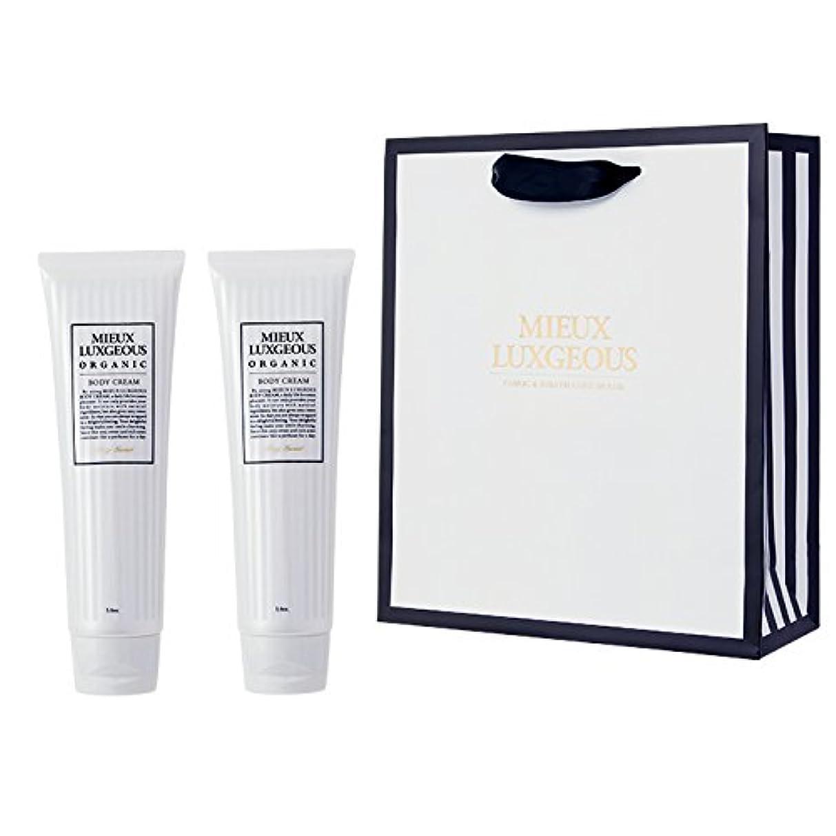 取り付け音声に向かってミューラグジャス Body Cream 2本set with Paperbag02