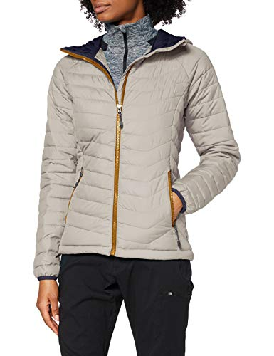 Columbia Damen Insulated Jacket Insulated Jacket Powder Lite Hooded, Light Cloud, M