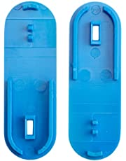 Neolab 2 3000 abrazaderas para lengüeta lateral y ranura de policarbonato apilable