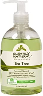 Clearly Natural Liquid Hand Soap - Tea Tree - 12 Fluid Oz