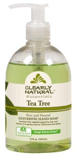 Pure and Natural Glycerine Hand Soap Tea Tree - 12 fl oz