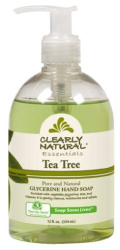 Pure and Natural Glycerine Hand Soap Tea Tree - 12 fl oz