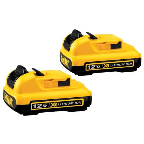 DEWALT DCB127-2 12V Max Lithium Battery, 2-Pack