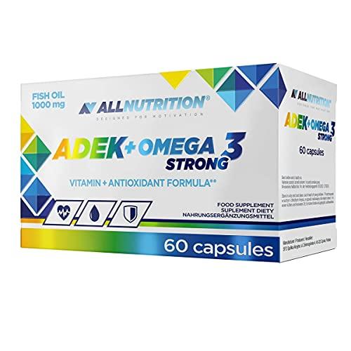 Allnutrition ADEK + Omega 3 Strong - 60 caps