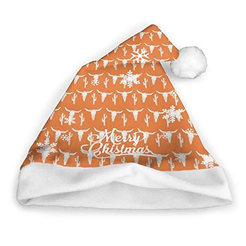 Weihnachtsmütze mit Boston-Terrier-Motiv, klassische Plüsch-Weihnachtsmütze,...