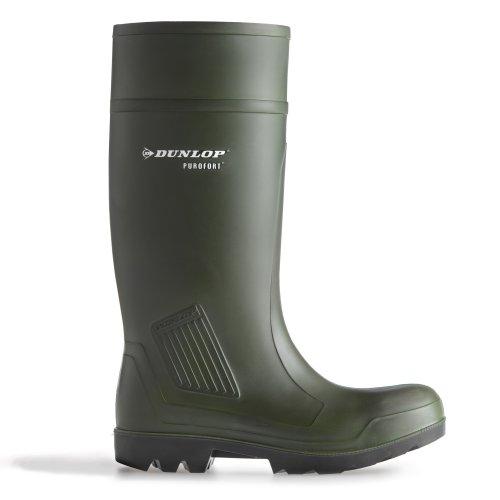 Dunlop Purofort professionele veiligheid C462933 Boxed Wellington/heren laarzen (43 EUR) (groen)