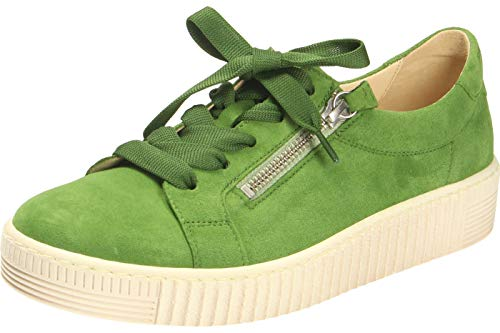 Gabor Jollys Sneaker in grote maten groen 43.334.12 grote damesschoenen