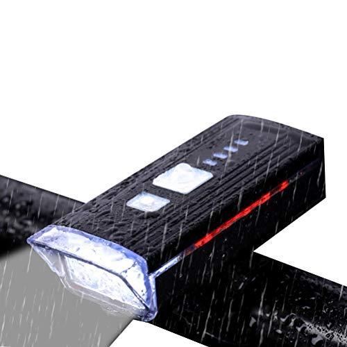 shenruifa Fahrrad Frontlicht USB Wiederaufladbare Fahrrad Scheinwerfer 4 Lichtmodi Intelligentes Licht Sense Fahrrad Lichter Outdoor Radfahren Sicherheit Warnlicht in der Nacht