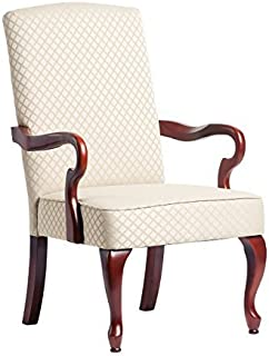 Comfort Pointe Derby Goose Neck Accent Chair - Beige