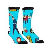 Calcetines de compresión para hombres y mujeres con diseño del personaje de los bolos para jugar a Kegling Game Crew – los mejores calcetines de lactancia, viajes y vuelo – Correr y hacer ejercicio