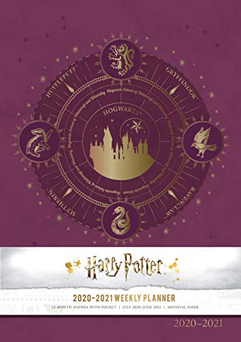 Harry Potter 2020-2021 Weekly Planner