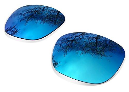 sunglasses restorer Kompatibel Ersatzgläser für Oakley Big Taco, Polarisierte Ice Blue