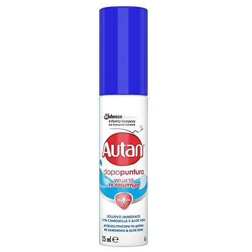 Autan Dopopuntura Insetto Repellente Antizanzare con Aloe Vera e Camomilla, 25ml