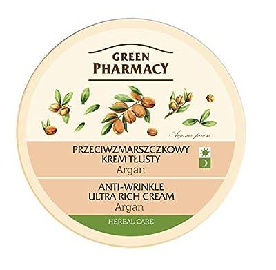 Green Pharmacy Anti - Wrinkle Ultra Rich Face Cream ARGAN Dry Skin 150ml by