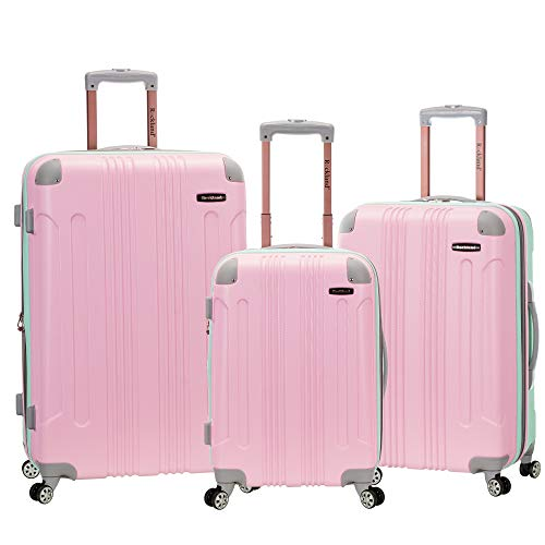 Rockland London Hardside Spinner Wheel Luggage, Mint, 3-Piece Set (20/24/28)