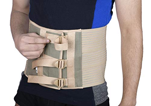 Wonder Care Abdominal Belt post c section delivery fat reducing binder post operative care compression tummy trimmer slimming belt adjustable body shaper (S)