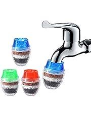 صنبور مياه منقي مياه لصنبور Goolsky تنقية صنبور المطبخ الكربون النشط يزيل الكلور والفلوريد والمعادن الثقيلة منقي المياه الصلب فلتر مياه حنفية