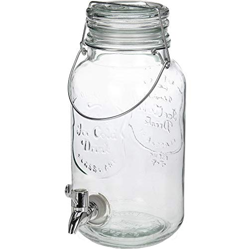 Dispensador de Bebidas Vintage Ice Cold Drink