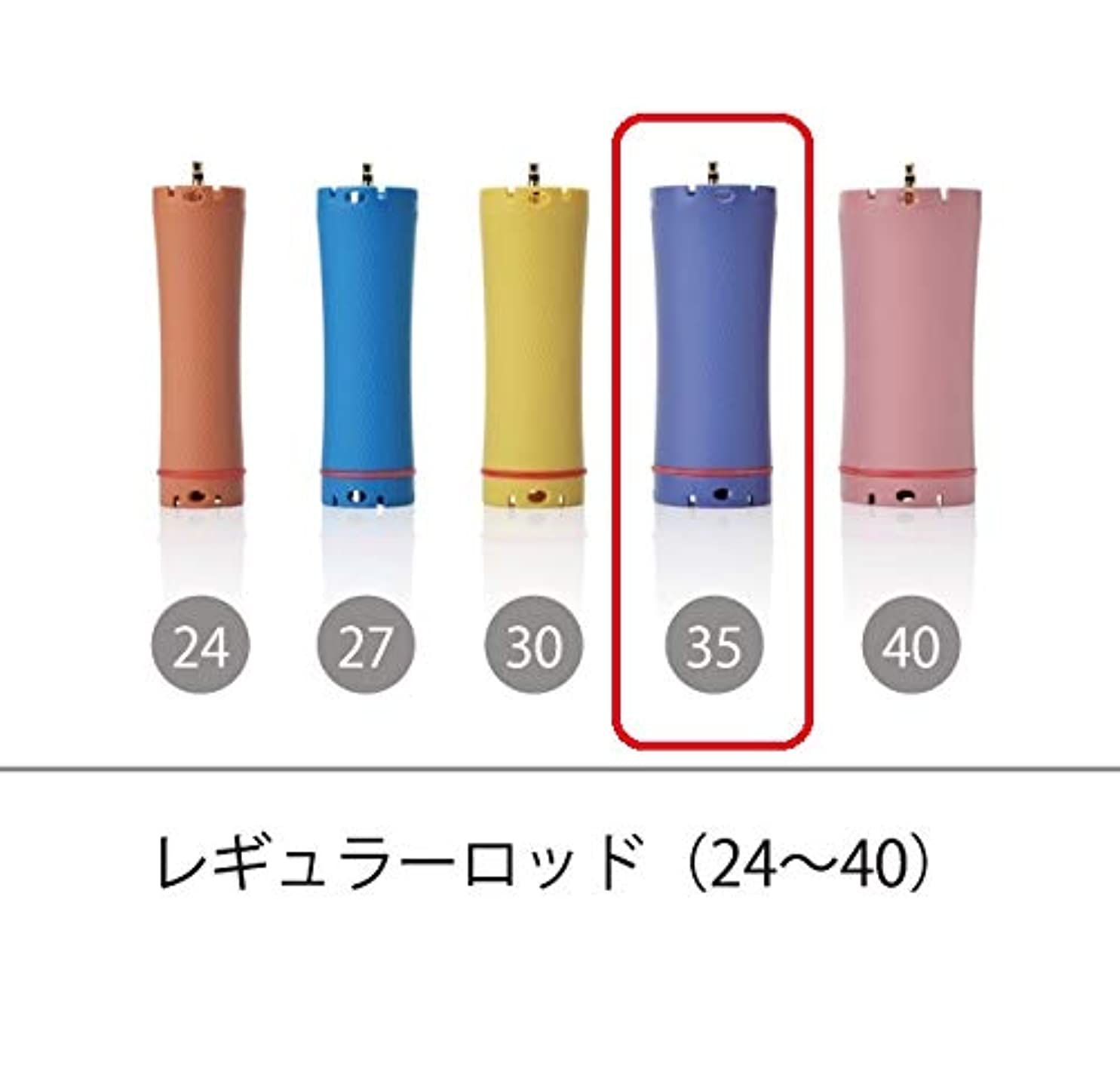 錫銀無数のソキウス 専用ロッド レギュラーロッド 35mm