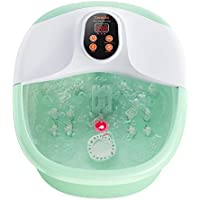 Carevas Heated Foot Bath Massager with O2 Bubbles