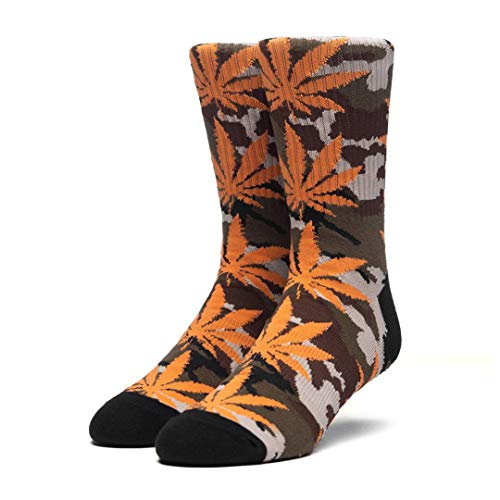 HUF Socken Plantlife Camo, Loden, One Size