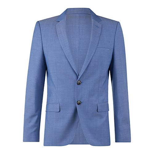 HUGO Herren Arti212 10178011 01 Business-Anzug Jacke, Light/Pastel Blue453, 48