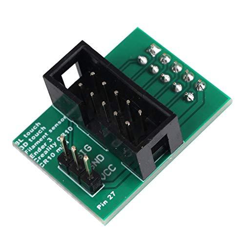 3D-Druckerzubehör Creality Cr-10 / Ender 3-polig 27 Pin für Touch (grün)
