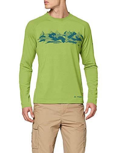 VAUDE Gleann Longsleeve II Homme Longsleeve Homme Chute Green FR: L (Taille Fabricant: L)