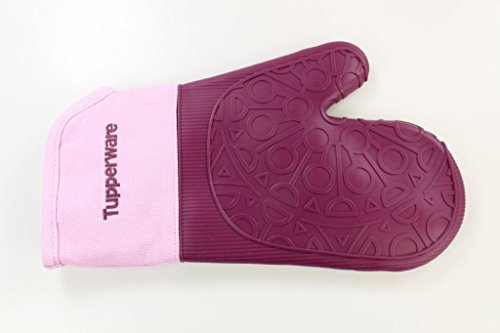TUPPERWARE Guanto da forno in silicone, viola rosa 27957