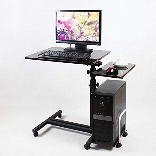 AI LI WEI Produkty gospodarstwa domowego/meble regulowany stojak na laptopa biurko nadstawka sofa stół regulowana wysokość stabilny stół na laptopa notebook komputer kółka na stół (kolor: A)