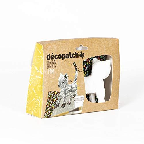 Decopatch–Papel maché (Mini Kit 19x 13,5x 4,5cm), diseño de Gato,...
