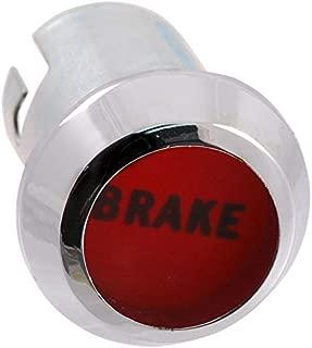 DENNIS CARPENTER FORD RESTORATION PARTS Brake Warning Bezel and Lens - Compatible with Ford