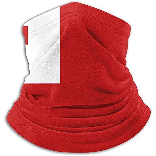 Giles John Scaldacollo con Bandiera Tonga, Maschera in Velluto di Cotone per Gli Sport Invernali All'Aperto