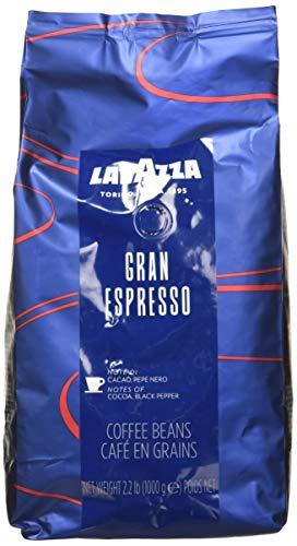 Lavazza Grand Espresso Whole Bean Coffee, 2.2-lbs (Pack of 2)