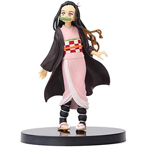 Mini-Figure Japonaise Ainme, Figurine de Collection Anime Action Jouets de poupée pour la décoration du Bureau et de la Maison, Figurine de Collection Kurama, Multicolore