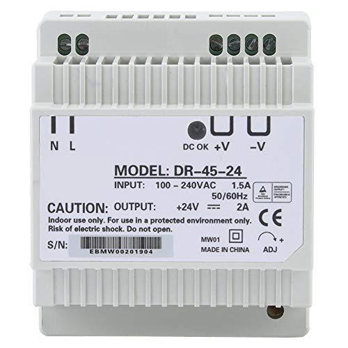 DR-45-24 Hutschienen-Netzteil für die Hutschienenmontage AC/DC-Schaltnetzteil