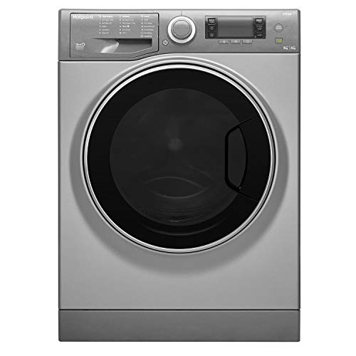 HOTPOINT RD966JGDUKN 9kg Wash 6kg Dry 1600rpm Freestanding Washer Dryer - Graphite
