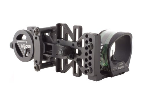 Trijicon AccuPin Bow Sight Green Triangle with AccuDial Mount Right Handed...