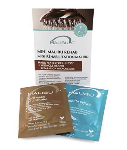 Malibu C Mini Malibu Rehab Hard Water Wellness and Miracle Repair Set