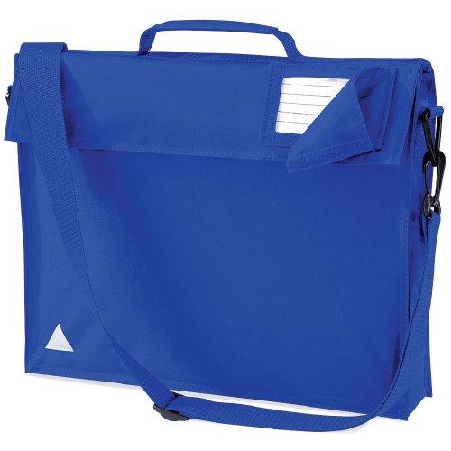 Quadra Junior Büchertasche mit Tragegurt Gr. Einheitsgröße, königsblau