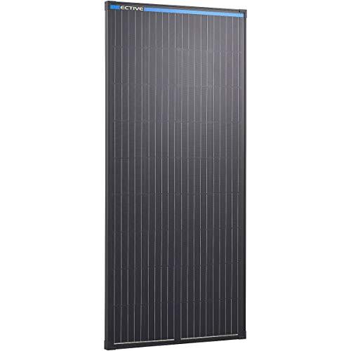 ECTIVE 12V 190W Monokristallines Solarmodul Black Edition mit 36...