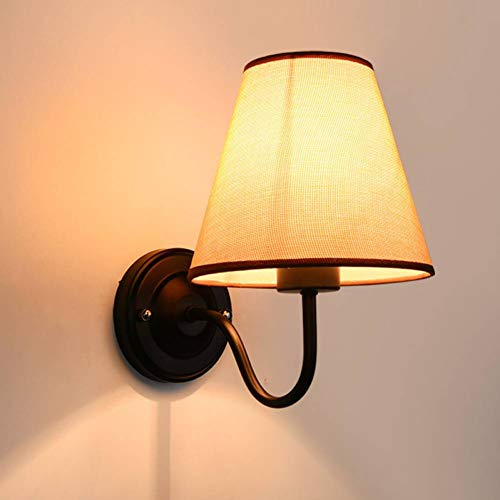 JFHGNJ wandlamp lamp met stekker wandlamp eenvoudig design bedlampje binnentrapverlichting nachtkastje lamp wandlamp