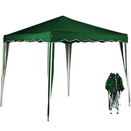 Deuba Gazebo Capri 3x3m - Gazebo Pieghevole da Giardino Tenda Parasole Popup - Altezza Totale: 250 cm