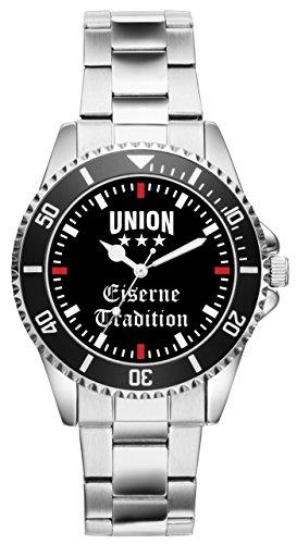 KIESENBERG - Union Geschenk Artikel Idee Fan Uhr 2351